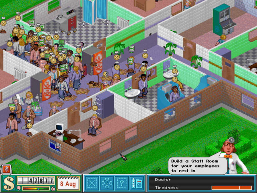 Theme hospital download