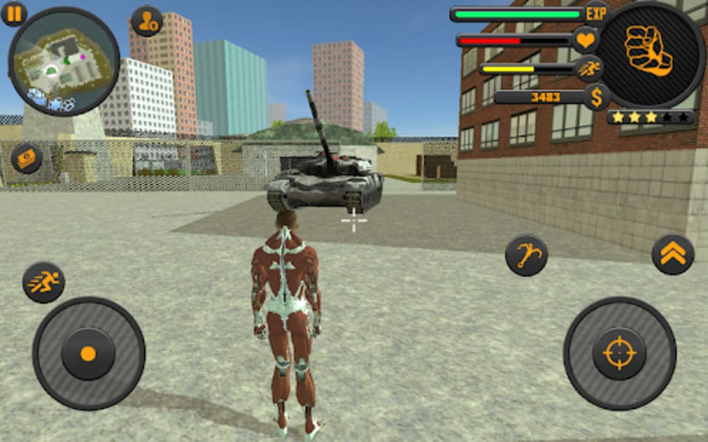rope hero vice town games free download