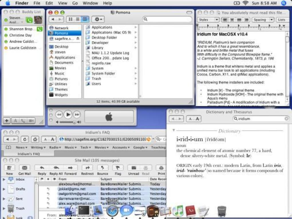 Iridium for Mac - Download