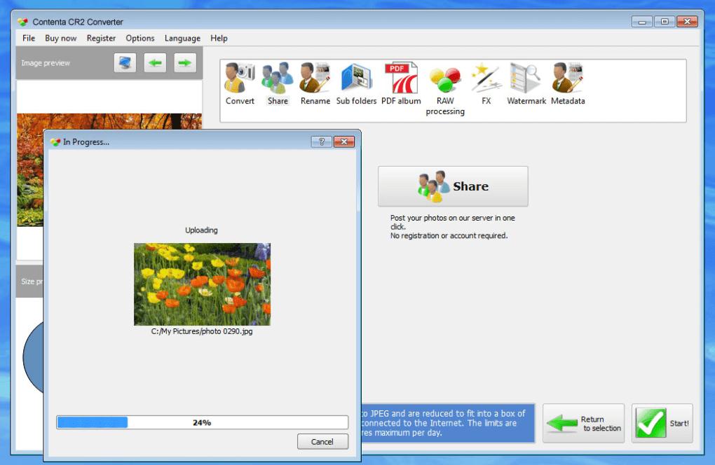 cr2 convert to jpg free