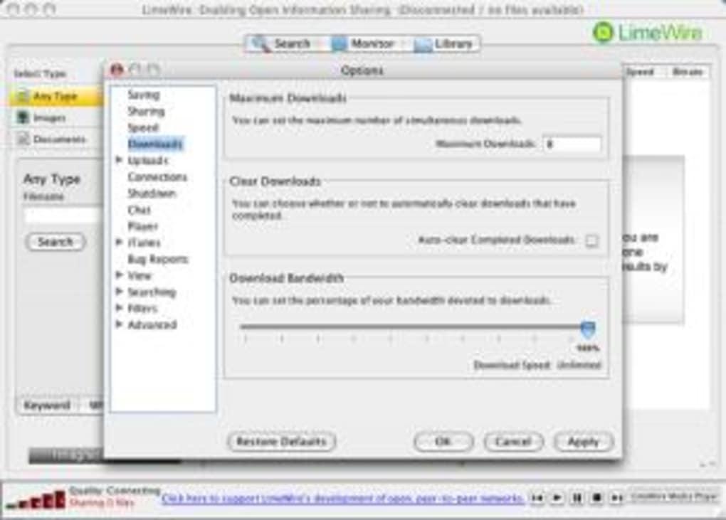limewire gratuit en francais 2011