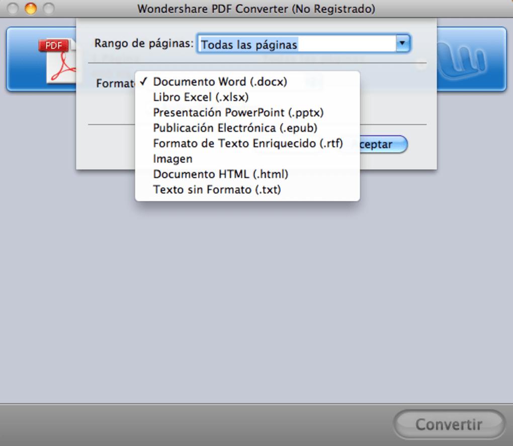 PDF Converter Pro para Mac (Mac) - Descargar