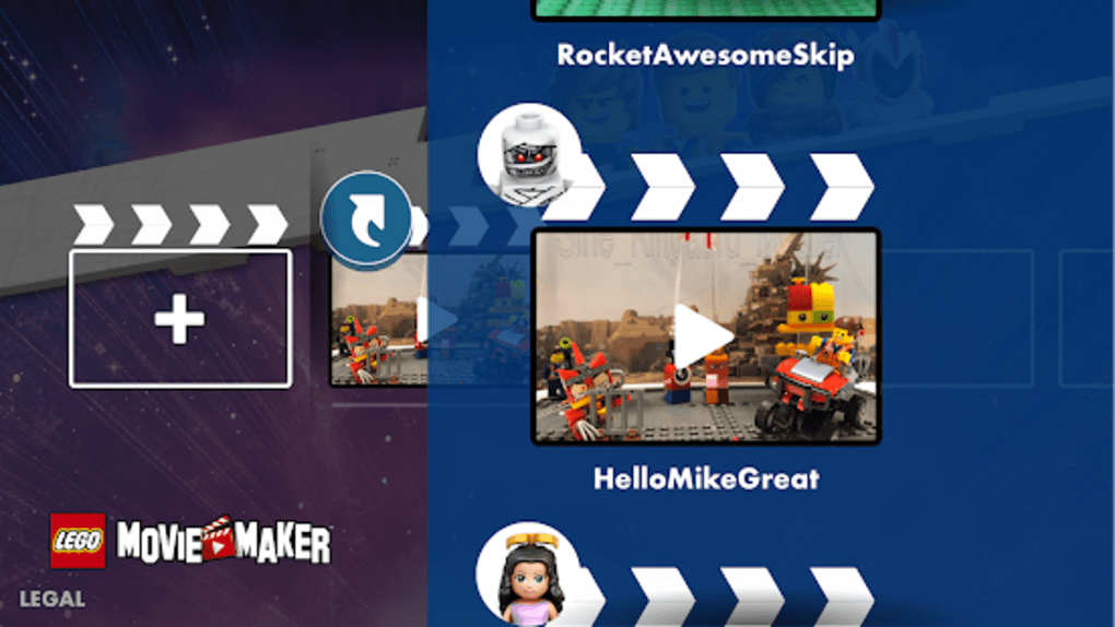 lego movie maker for android free download