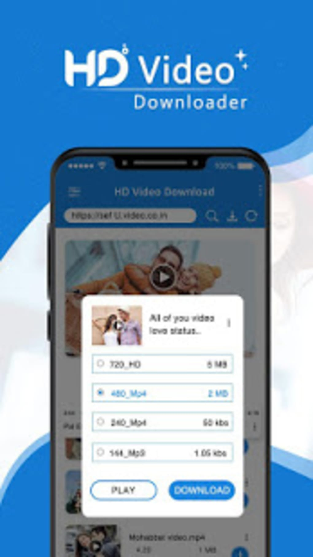 Movie Video Player 2019 : Video Downloader for Android