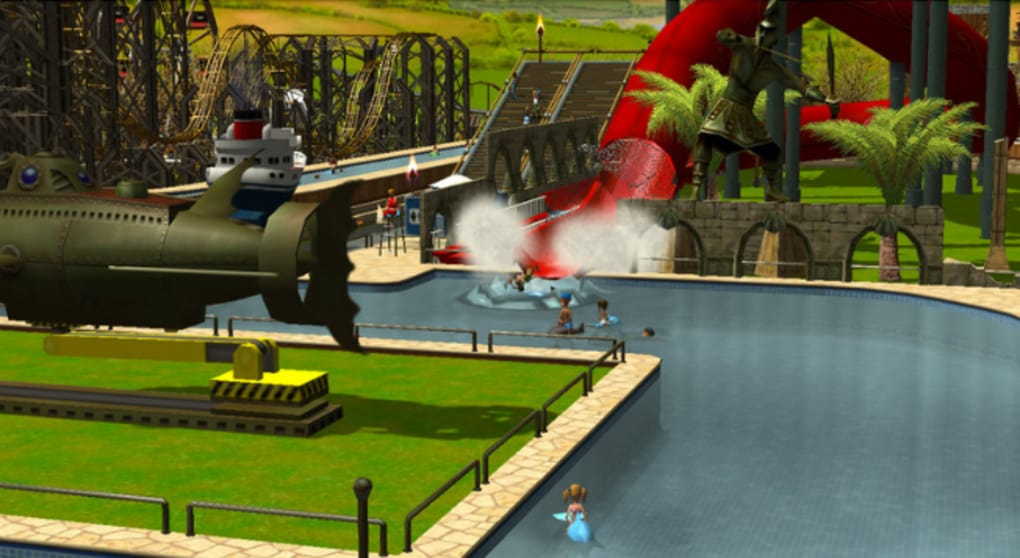 download rollercoaster tycoon 4 mac