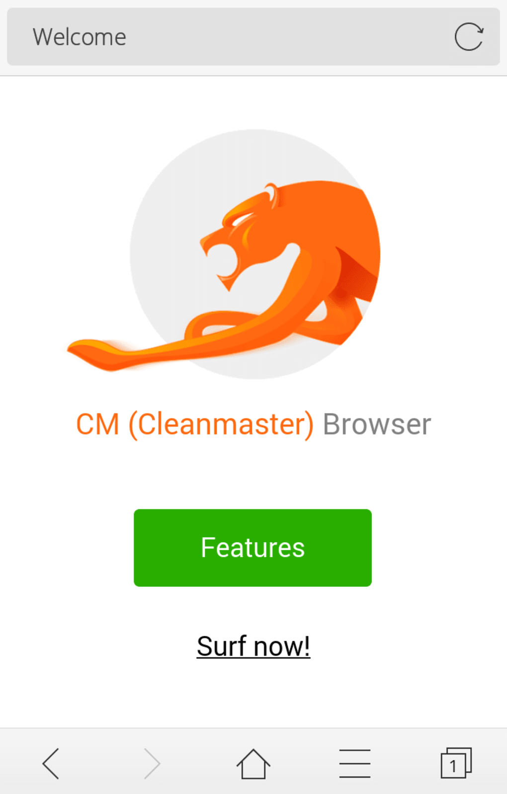 2bca20f0f38 CM (Clean Master) Browser-Fast for Android - Download