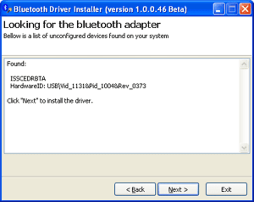 Bluetooth Driver Installer - Download