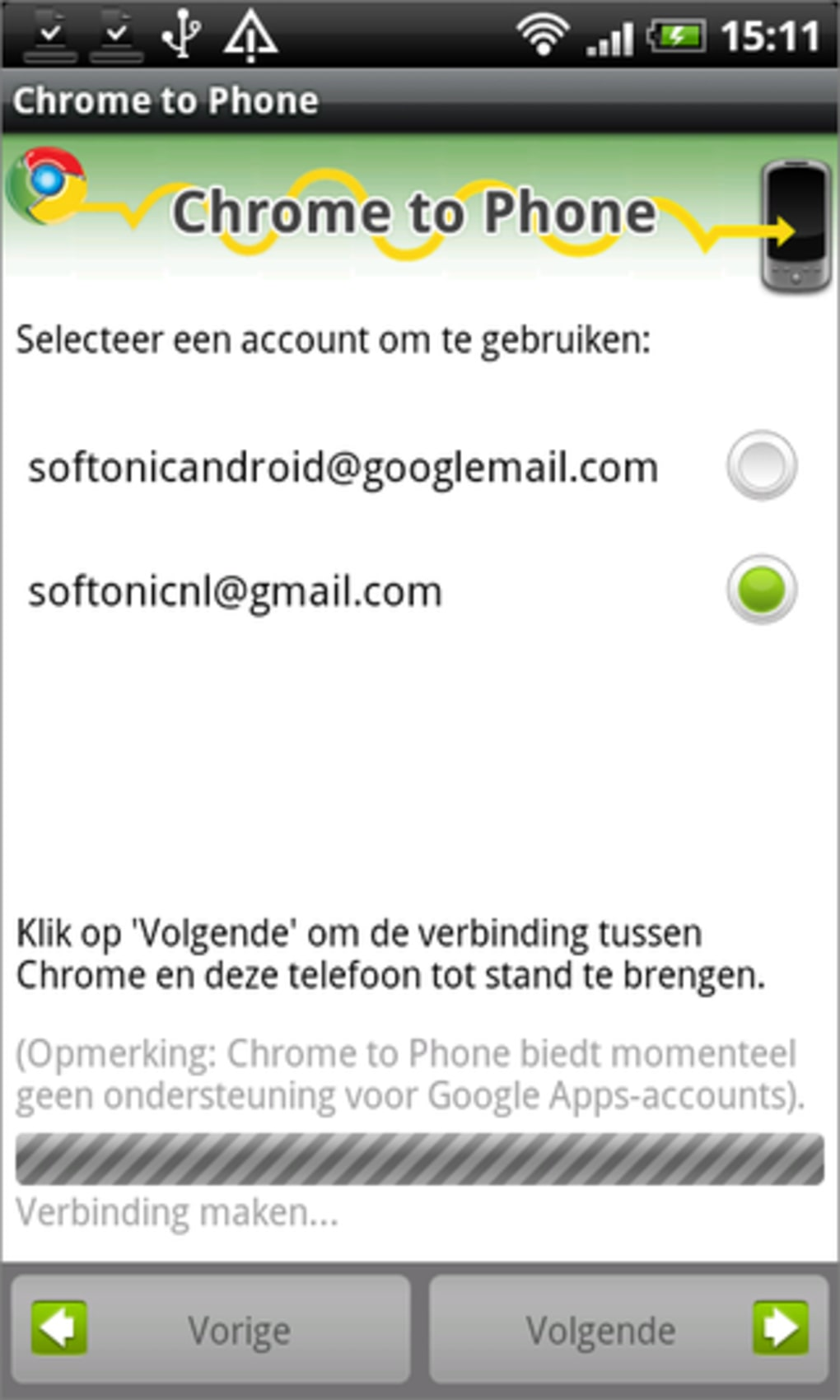 Google Chrome to Phone - Download