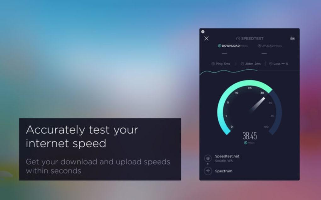 internet speed test for my mac