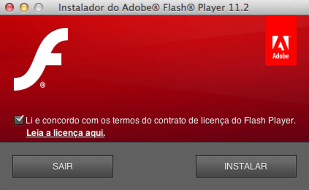 adobe flash player pour mac os x 10.3.9
