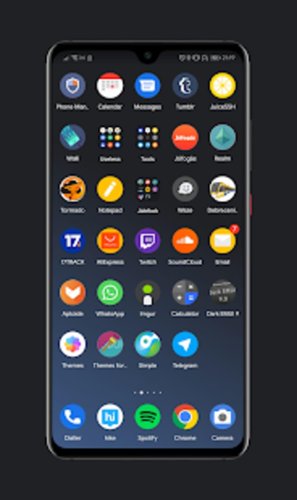 Os X Dark Theme For Huawei Apk