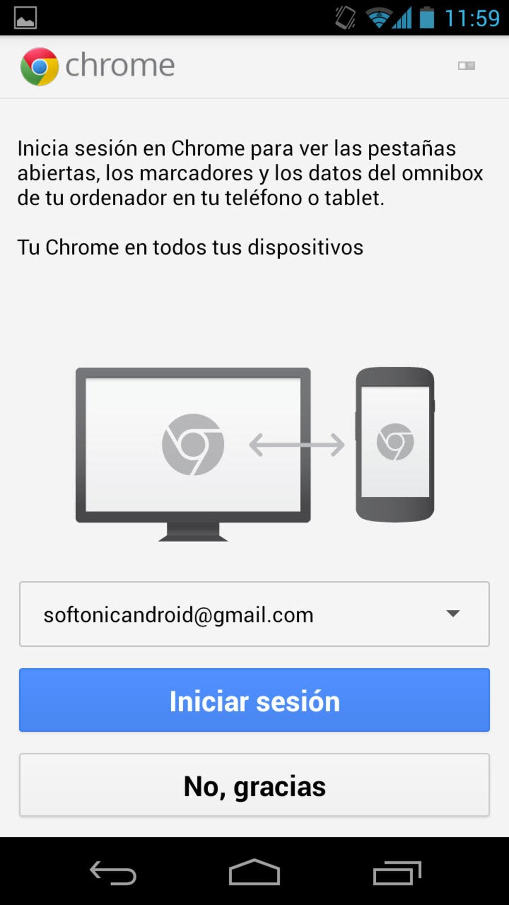 Chrome Beta para Android - Descargar