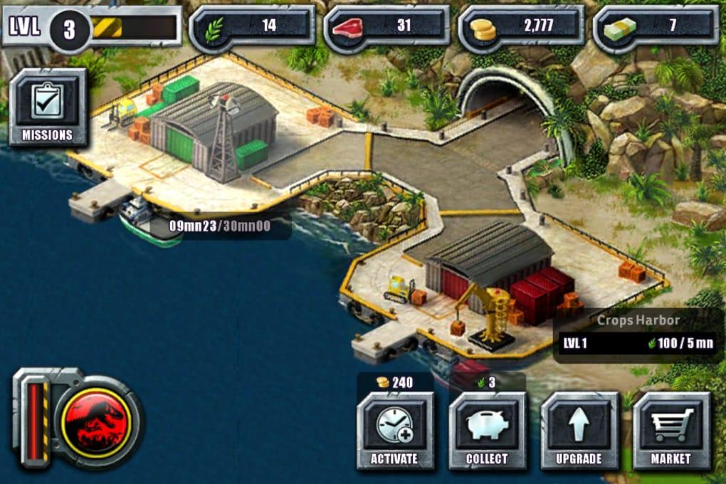 jurassic park builder free download