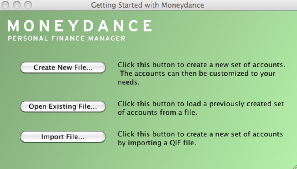 Moneydance for Mac - Download