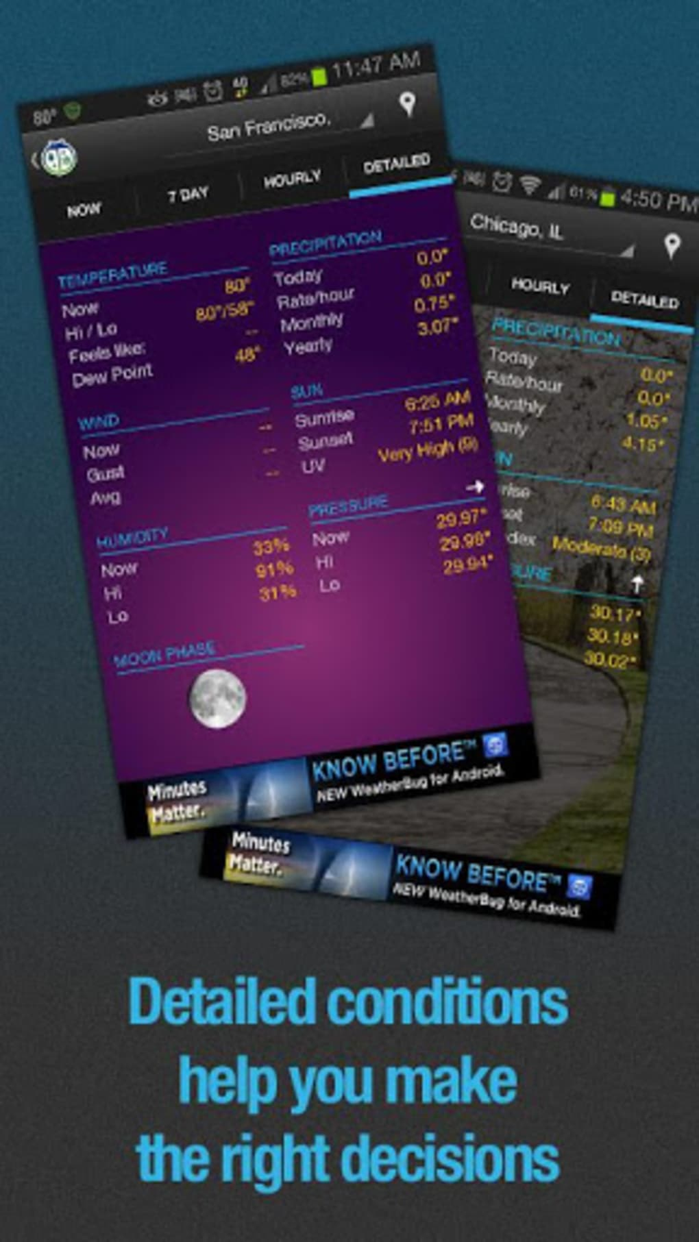 WeatherBug for Android - Download