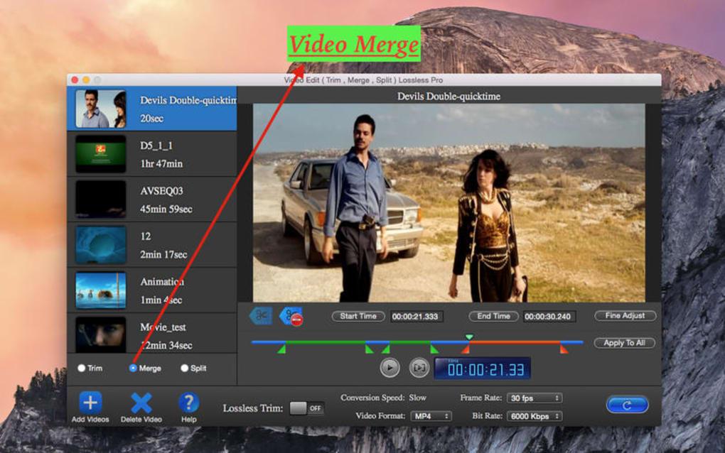 Video Edit Lossless Lite