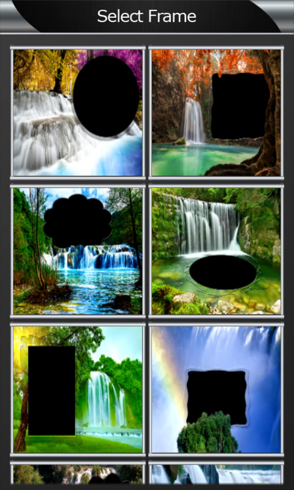 Waterfall Photo Frames For Android Download