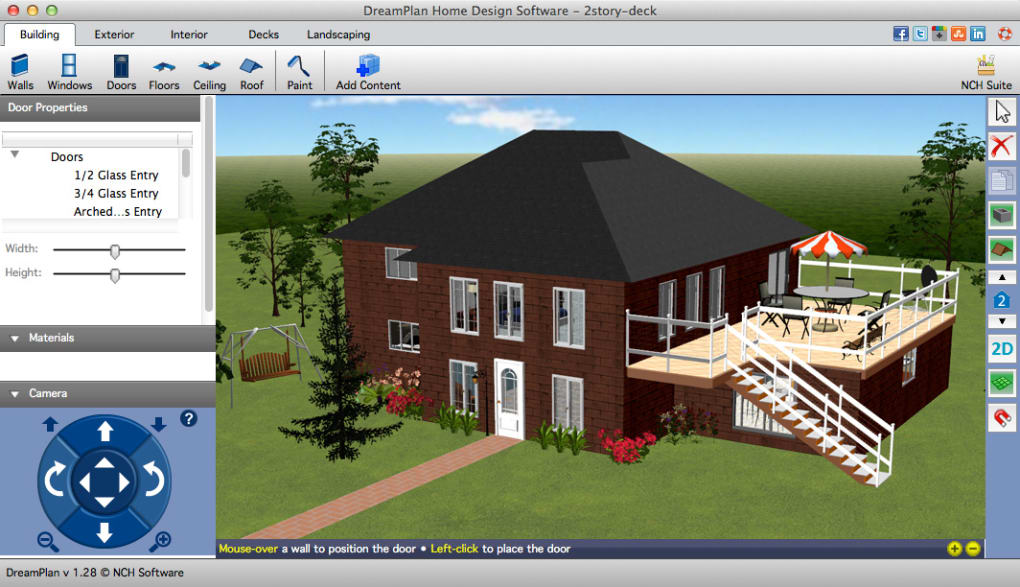 Dreamplan home design free for mac mac download for Create your house online