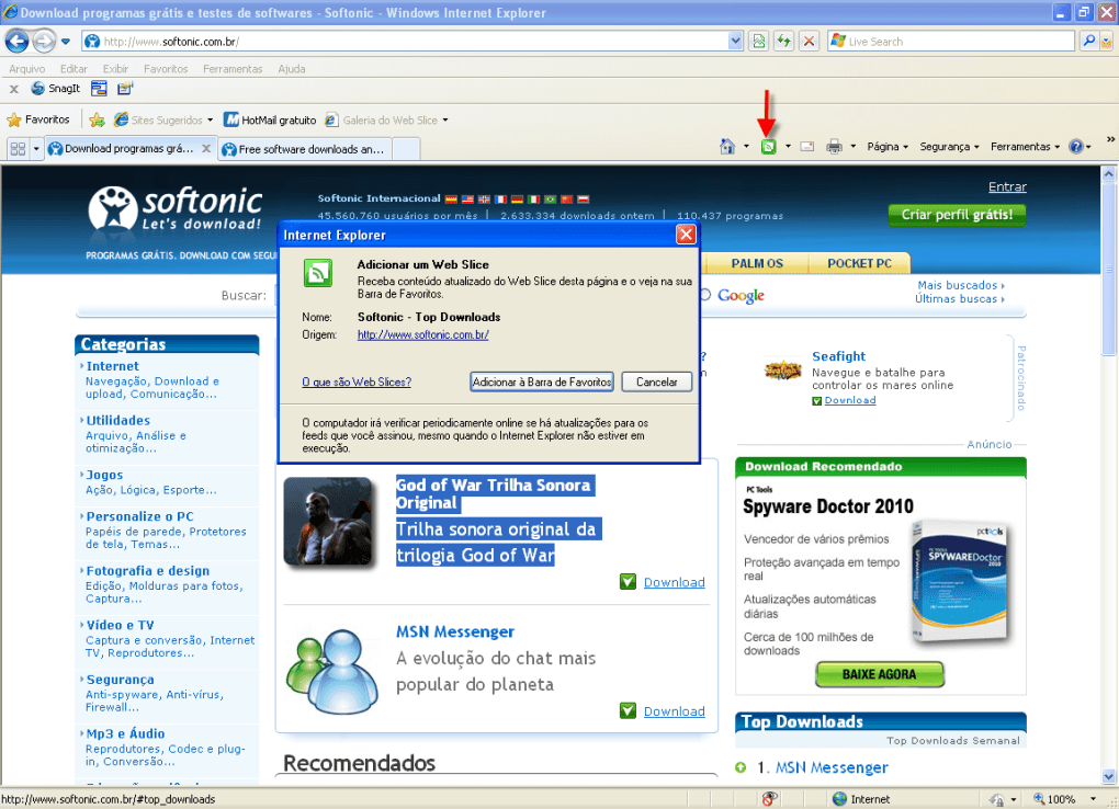 windows vista internet explorer 8 free download