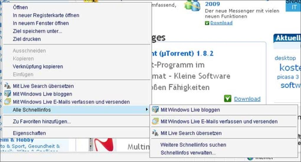 download internet explorer 8 for windows xp