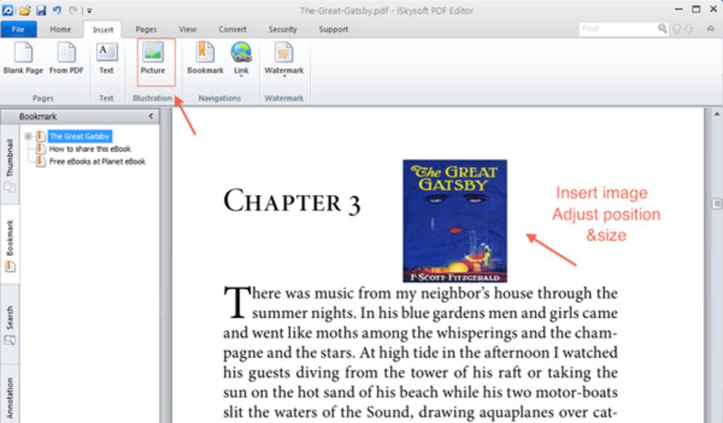 iskysoft pdf editor filehippo