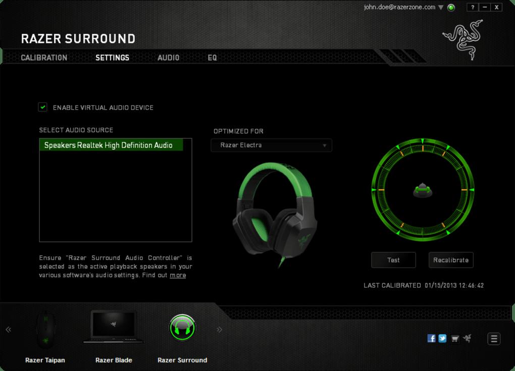 Razer Surround - Download