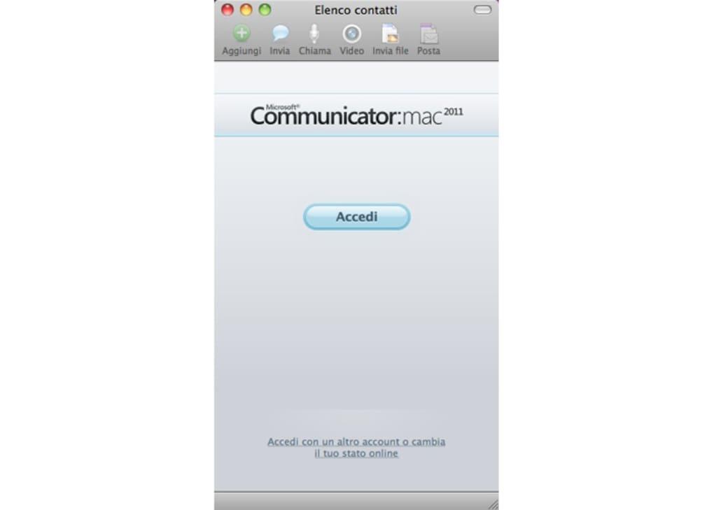 microsoft communicator 2011 per mac download