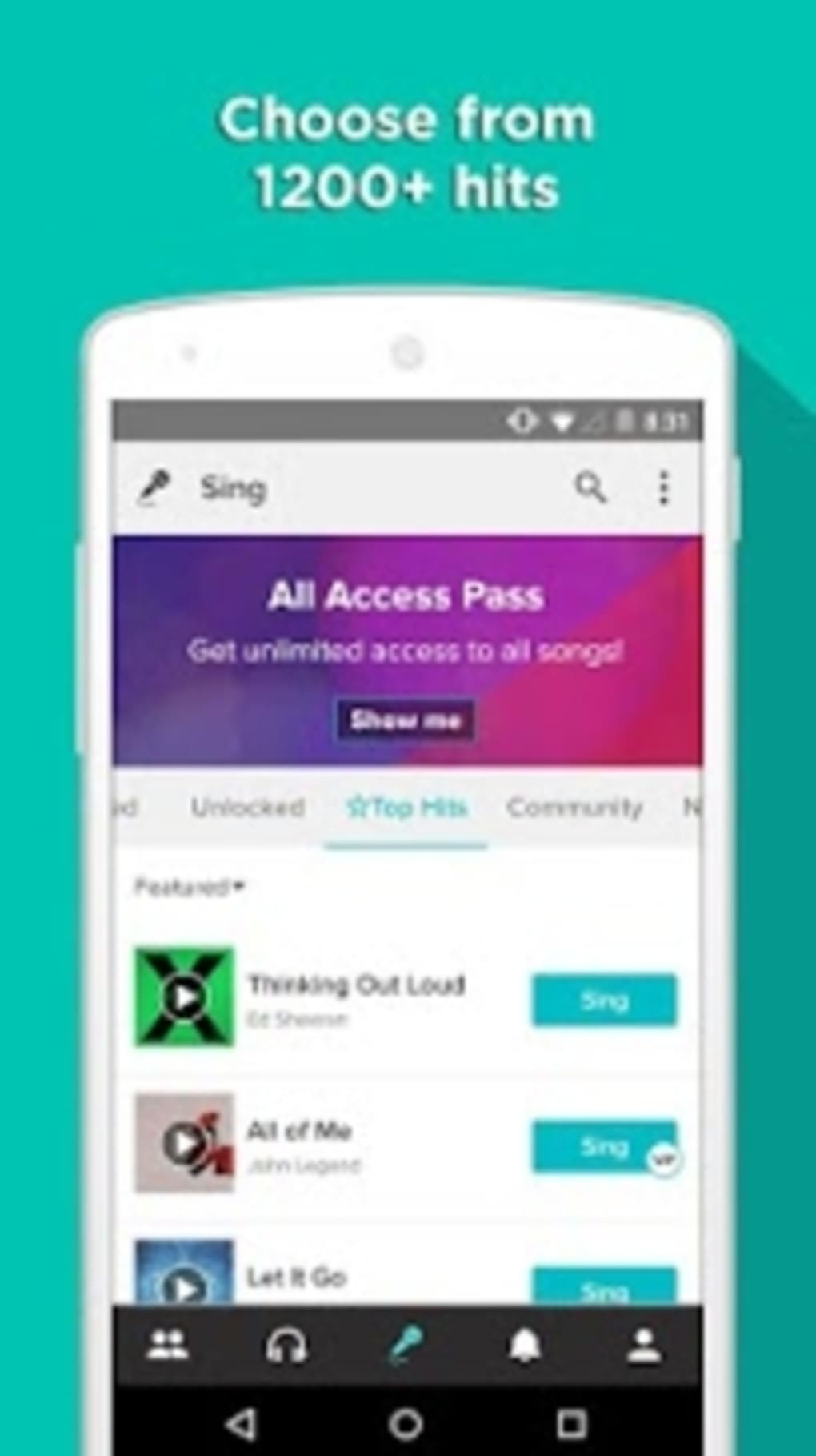 Sing! Karaoke for Android - Download