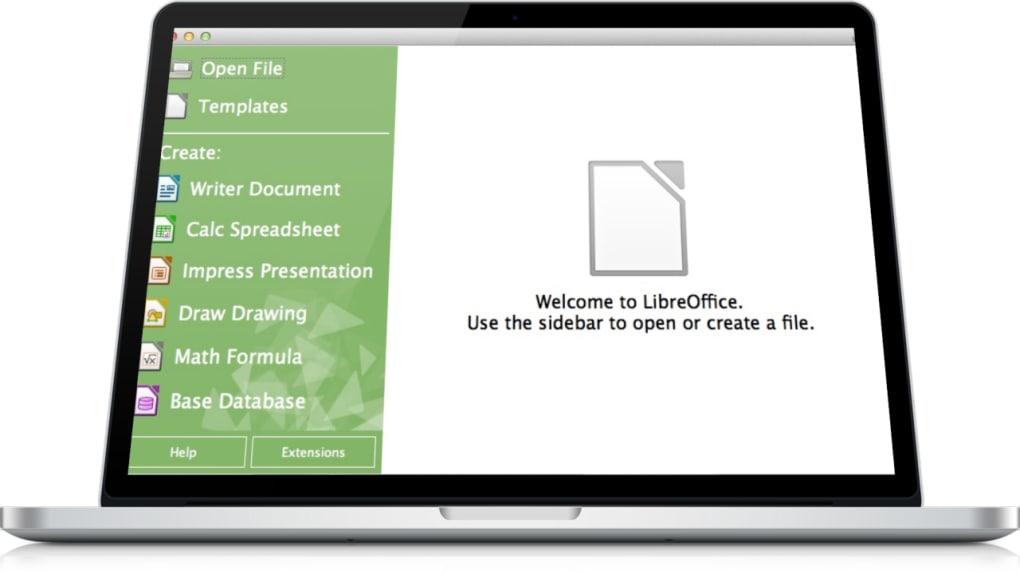LibreOffice Fresh für Mac - Download