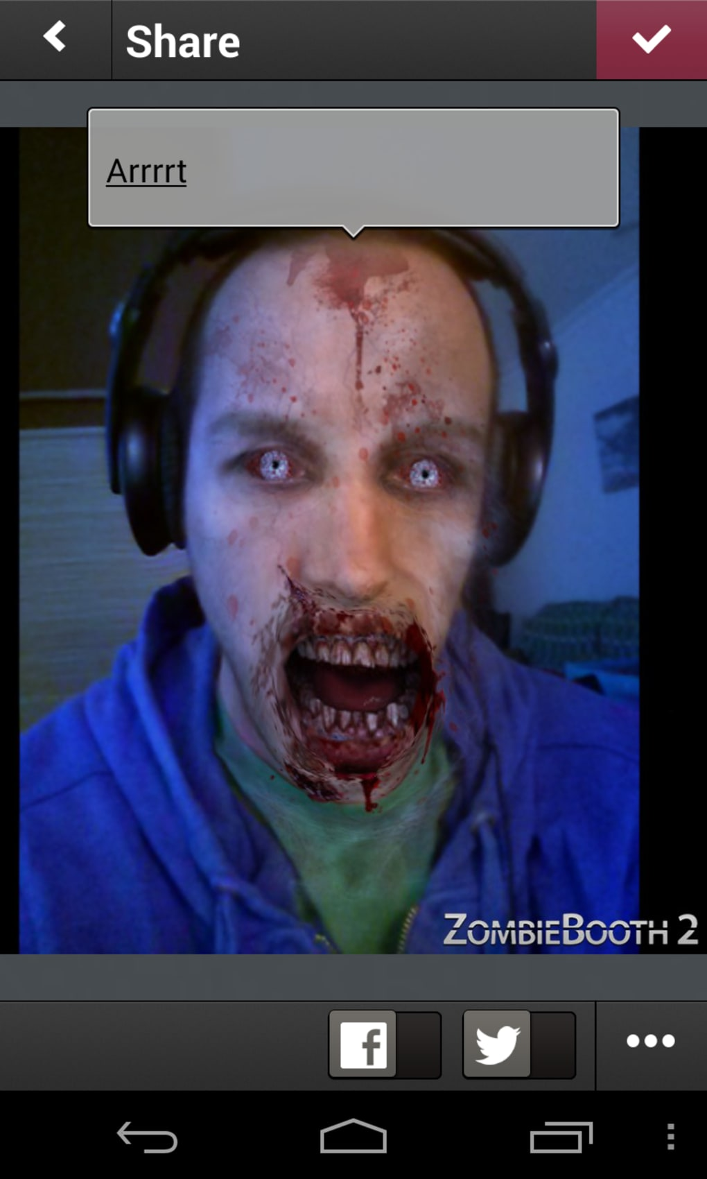 Zombiebooth app download.