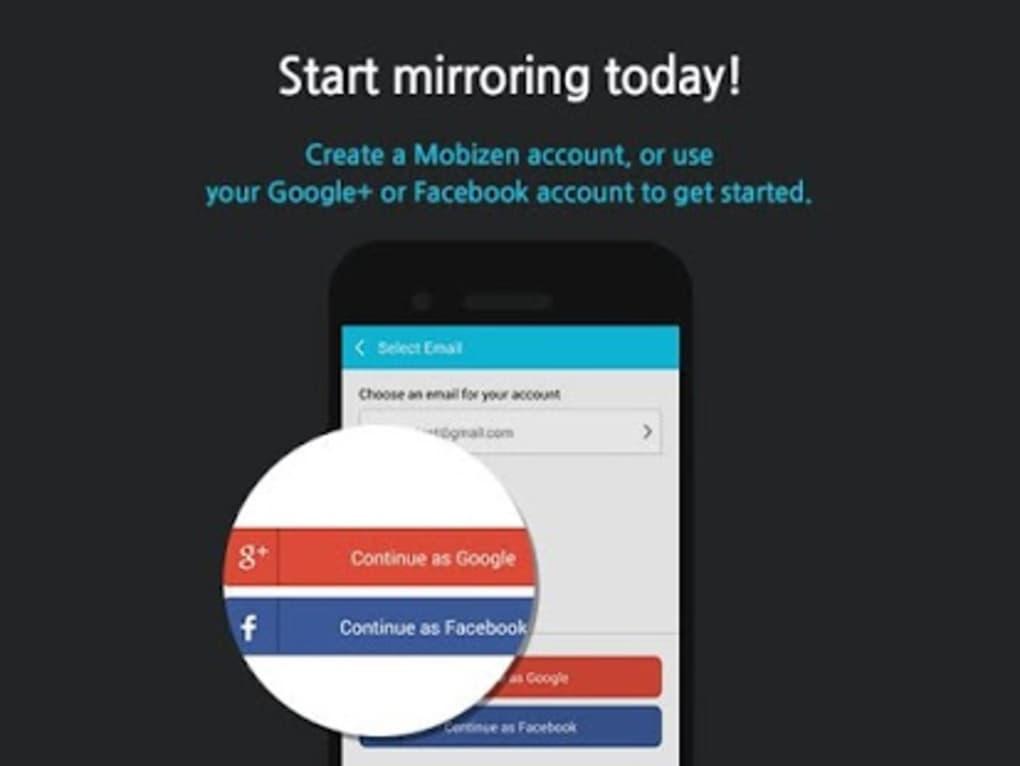 mobizen mirroring for samsung
