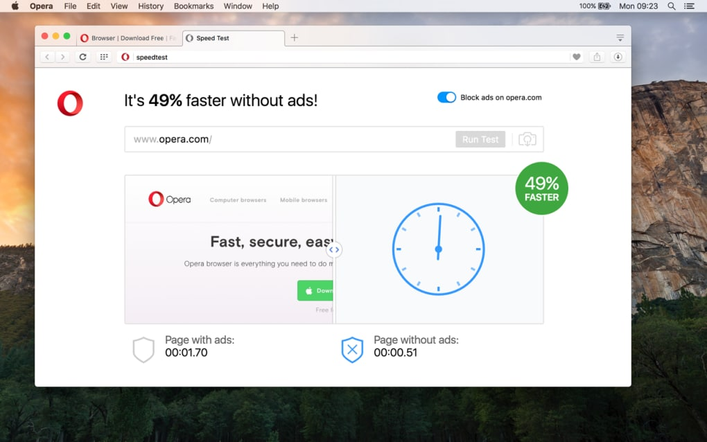 Best browser for os x