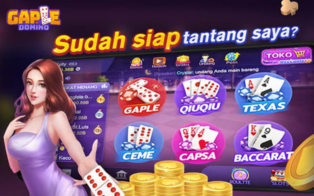 Gaple-Domino QiuQiu Poker Capsa Ceme Game Online for ...