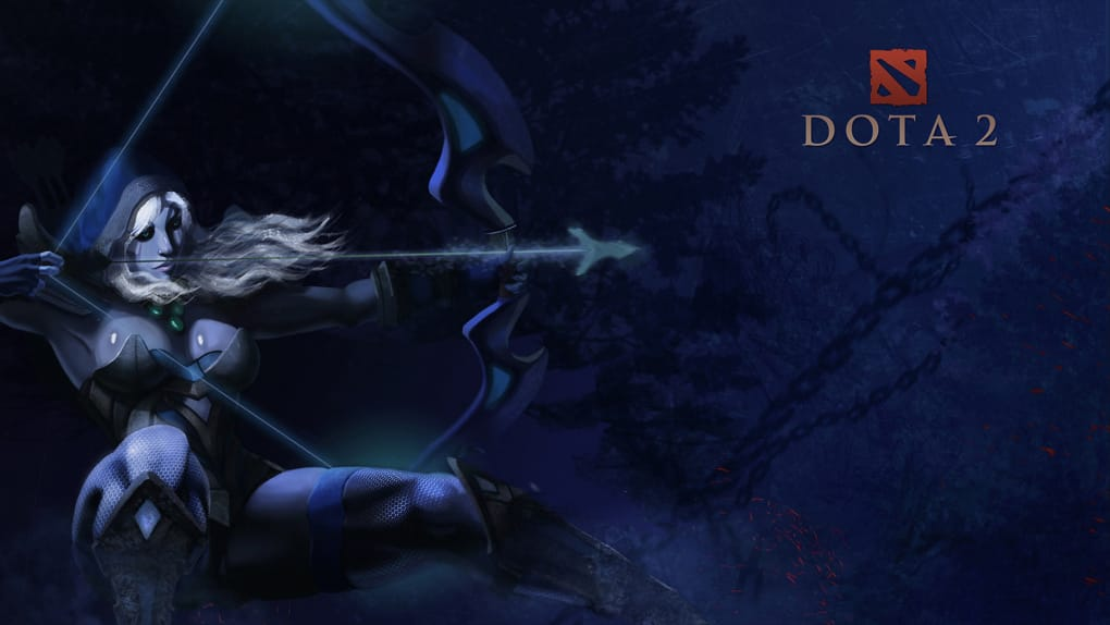 Dota 2 Female Heroes Hd Wallpapers Pack Download