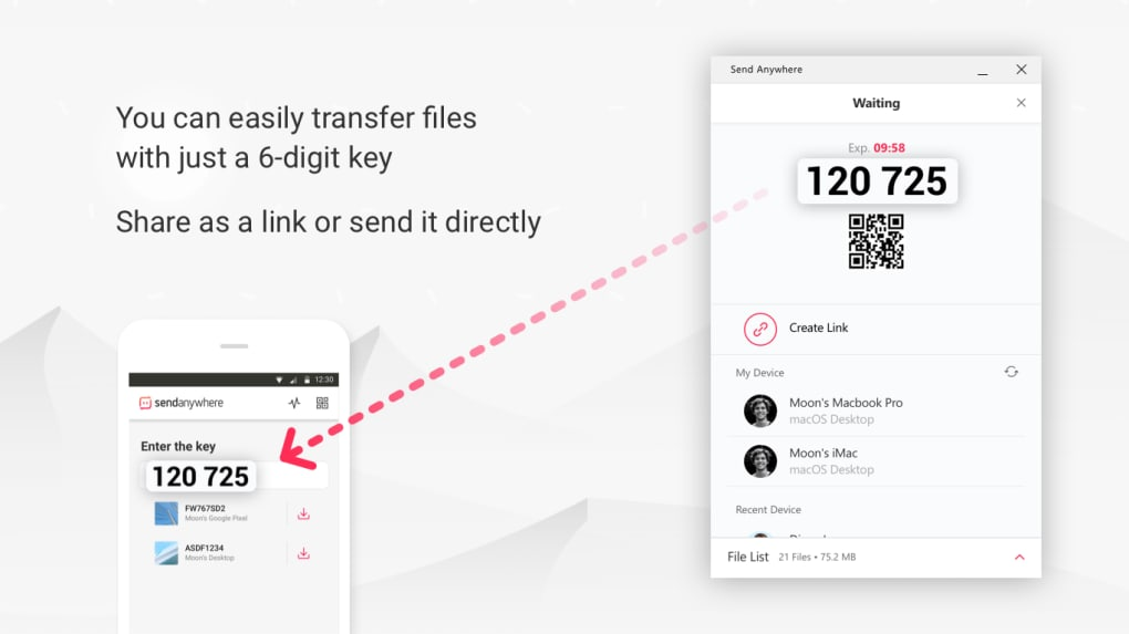 Send Anywhere (File Transfer) - Download