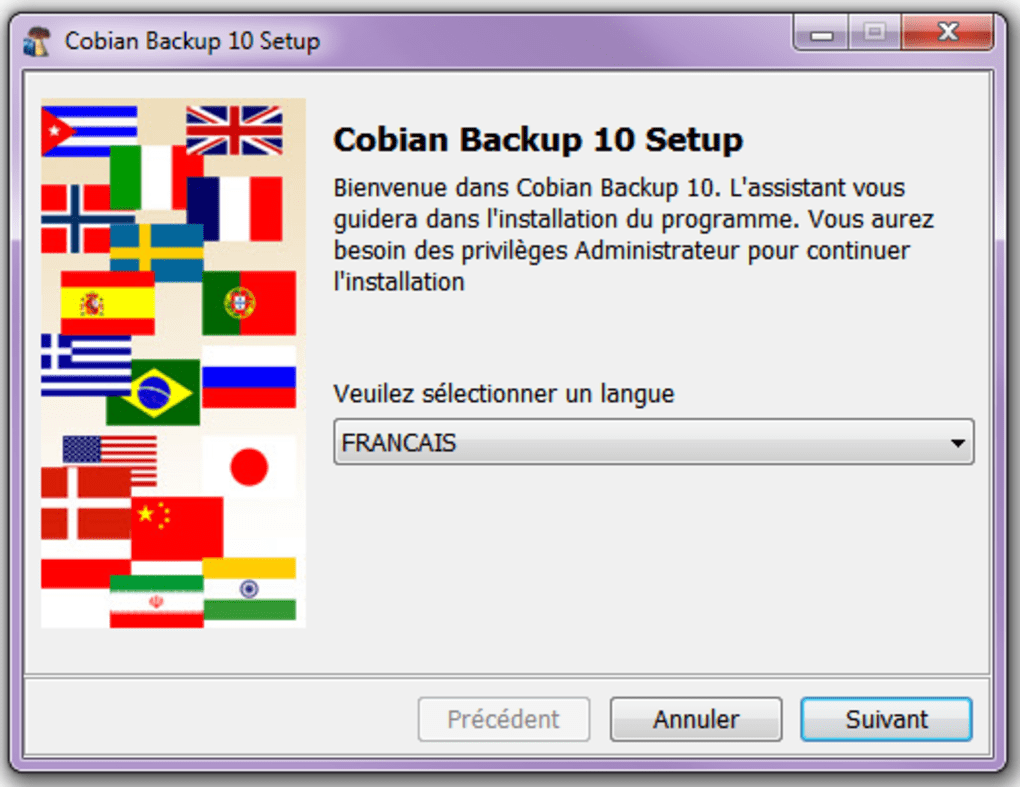 cobian backup franais