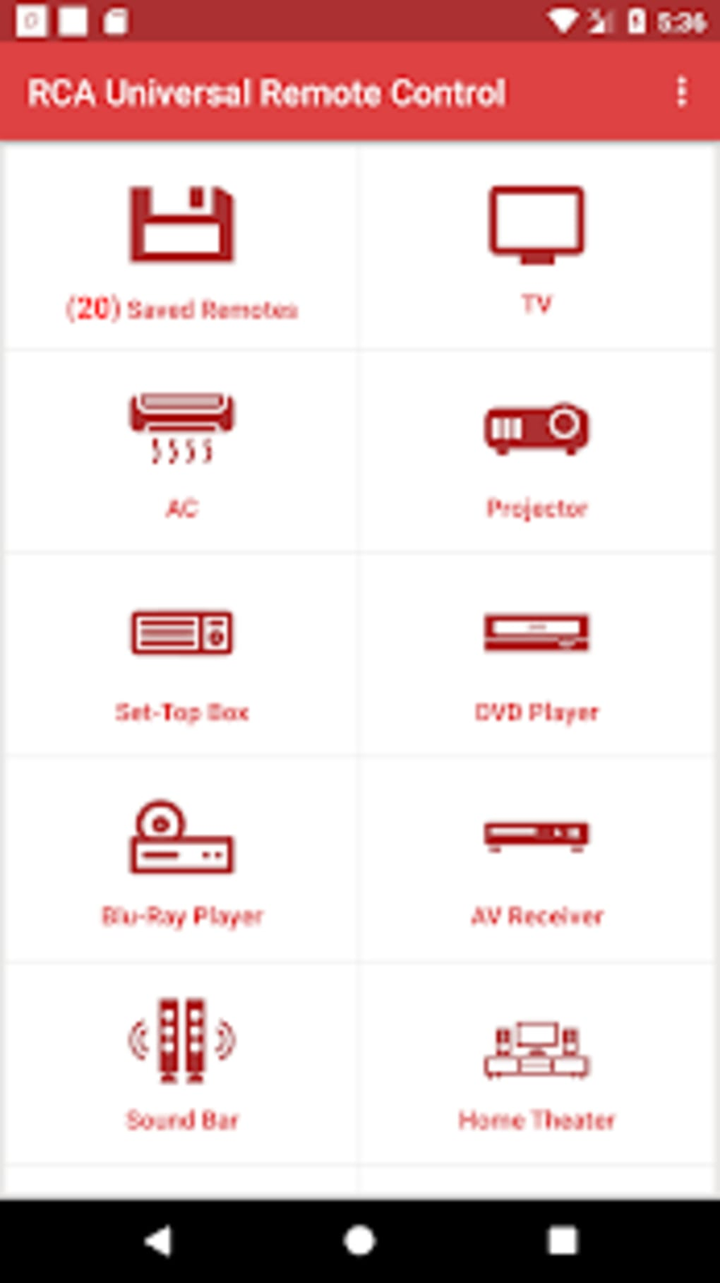 RCA Universal Remote Control for Android - Download