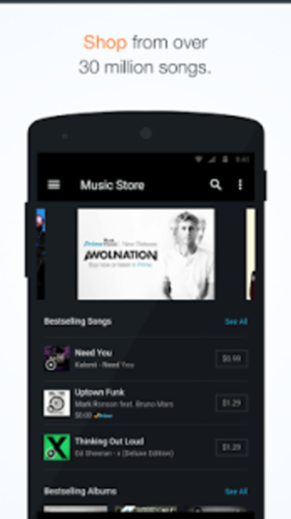 amazon music apk for android