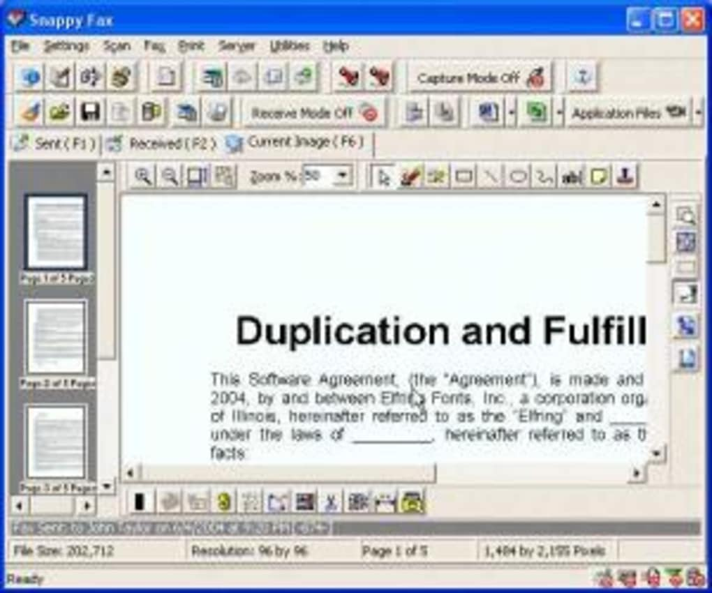 snappy fax download
