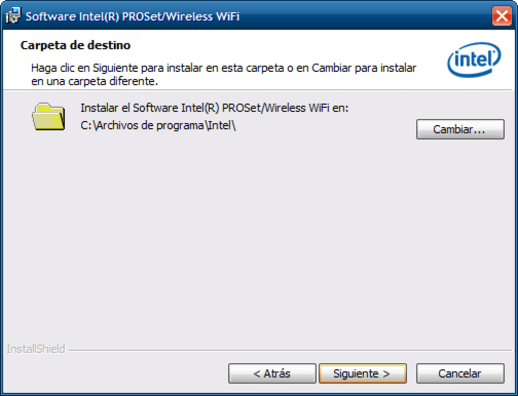 PILOTE INTEL R PRO WIRELESS 3945ABG NETWORK CONNECTION