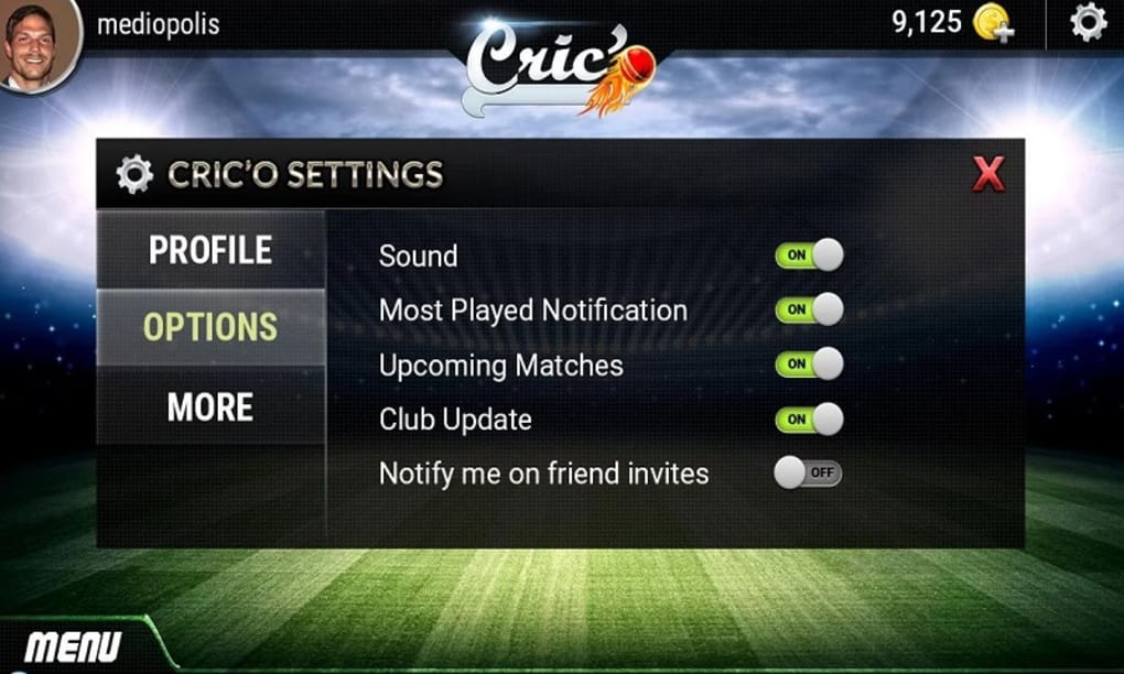 Cric'O : A Fantasy game for Android - Download