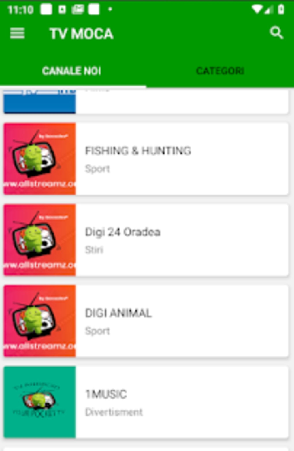 TV MOCA ROMANIA for Android - Download