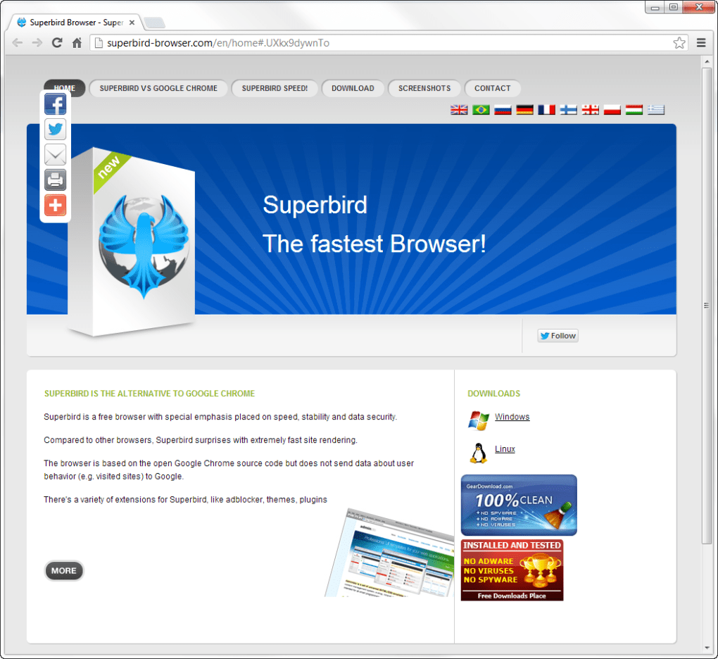 free download very fast web browser software