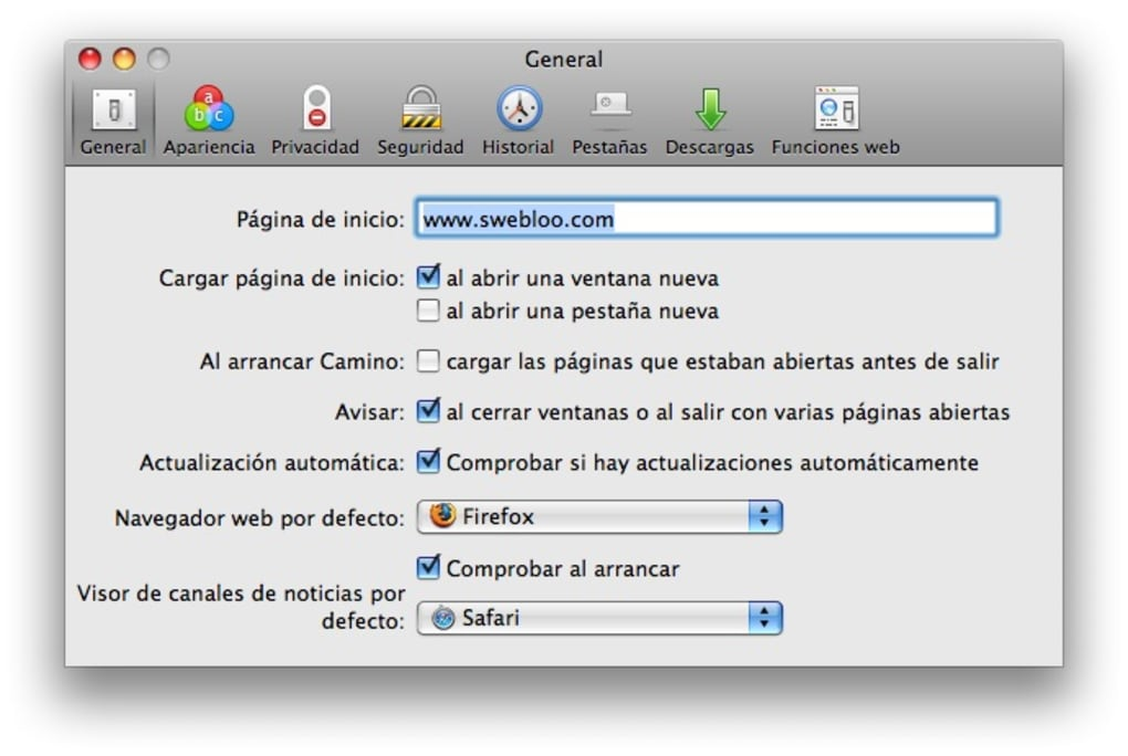 descargar navegador para mac os x