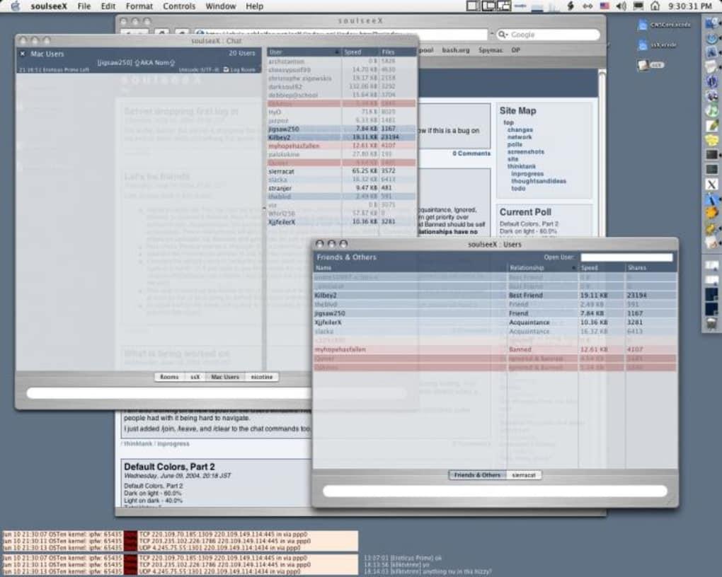SoulseeX for Mac - Download