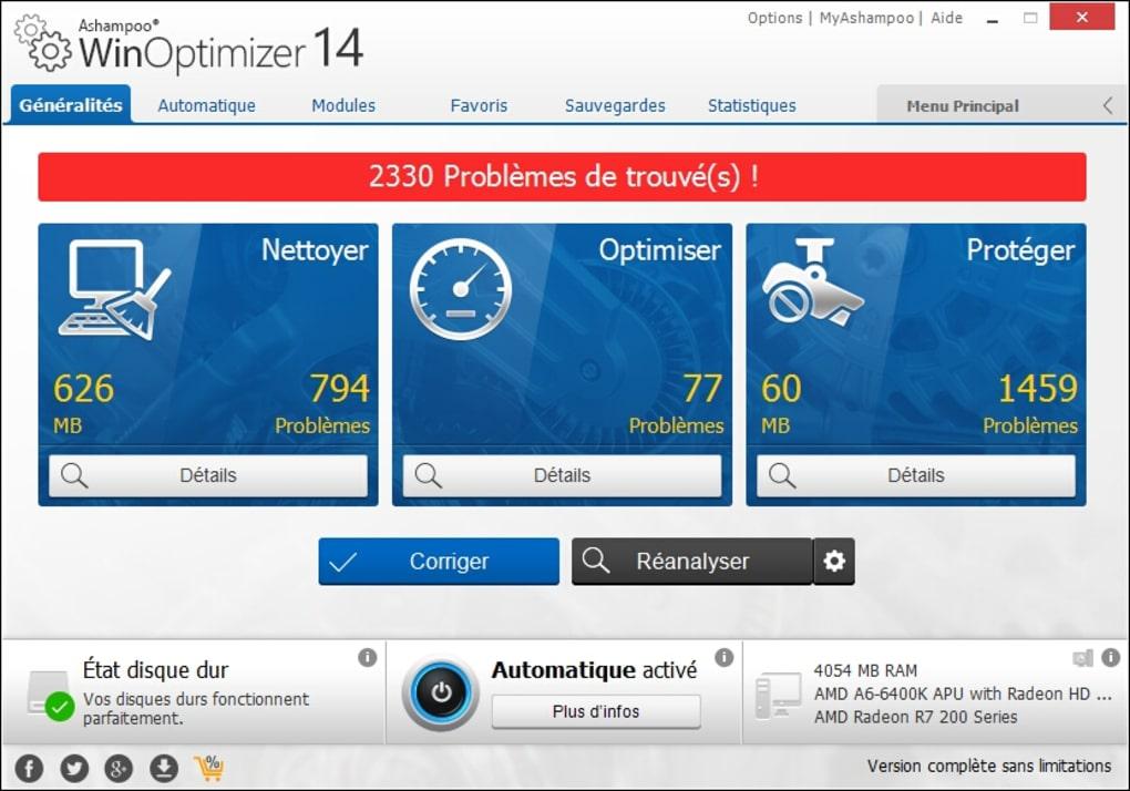 winoptimizer 2010 gratuit