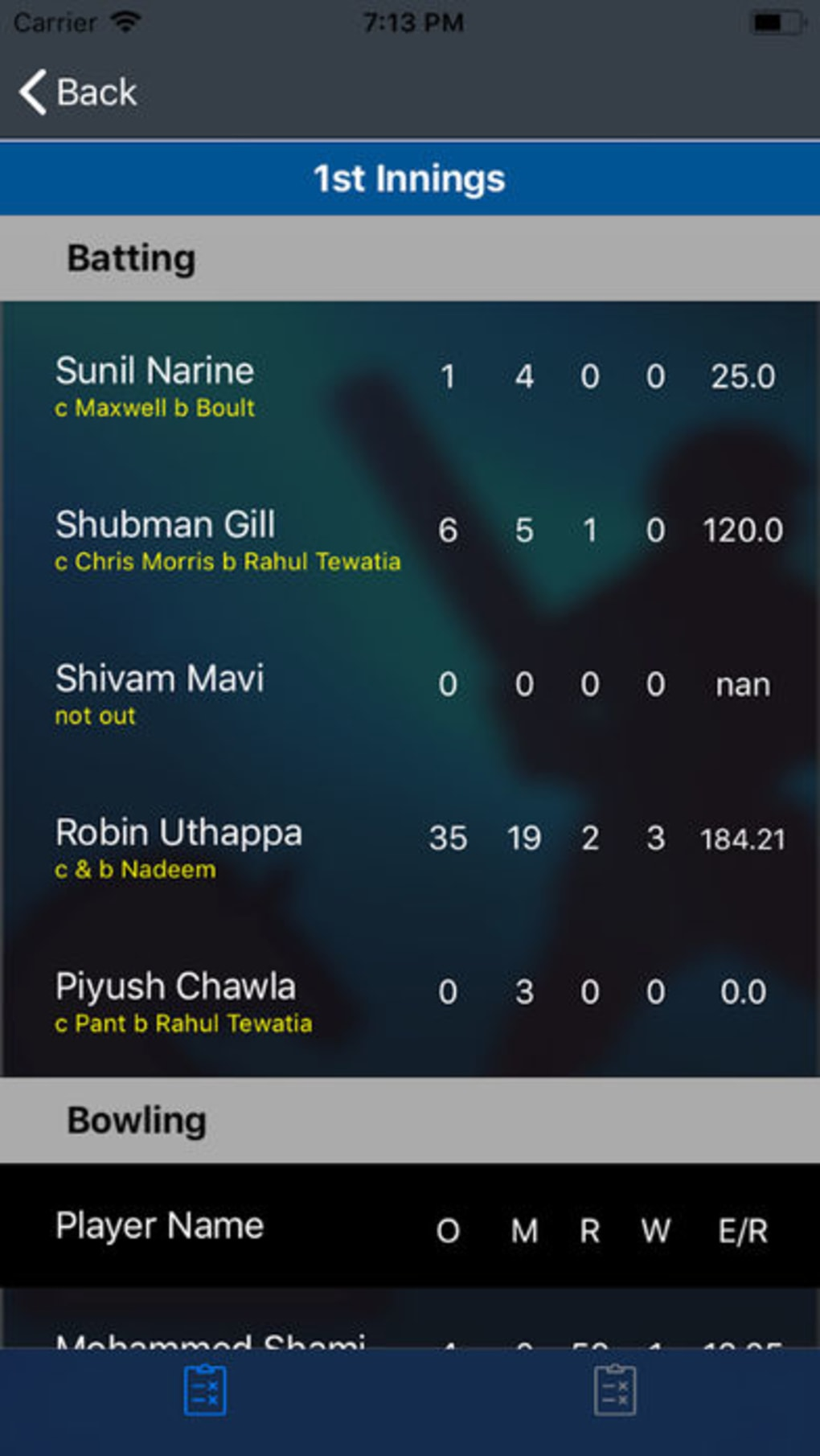 Cricket Exchange (Live Line) for iPhone - Download