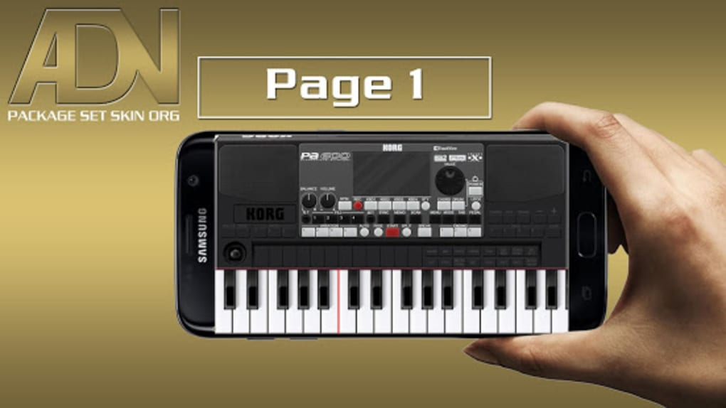 Skin KORG PA600 For ORG 2019 for Android - Download
