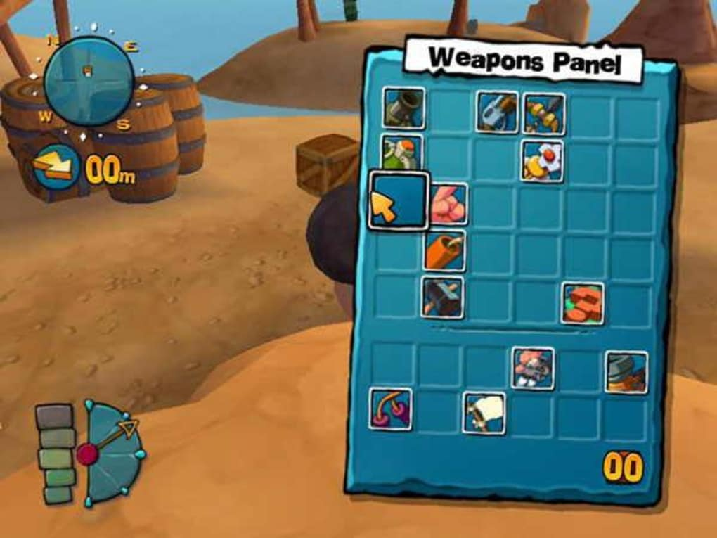 Worms 4 mayhem (2005) pc review and full download | old pc gaming.