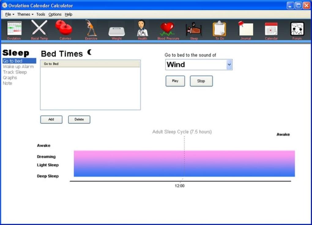 Ovulation Calendar Calculator - Download